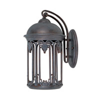 Designers Fountain Barrington 1 Light Outdoor Wall Lantern (Dark Sky) in Old Bronze 31021-OB