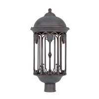 Designers Fountain Barrington 1 Light Post Lantern (Dark Sky) in Old Bronze 31036-OB