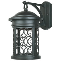 Designers Fountain Ellington 1 Light Outdoor Wall Lantern (Dark Sky) in Oil Rubbed Bronze 31111-ORB