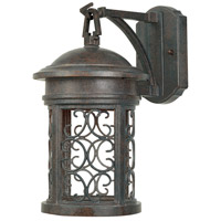 Designers Fountain Ellington 1 Light Outdoor Wall Lantern (Dark Sky) in Mediterranean Patina 31121-MP