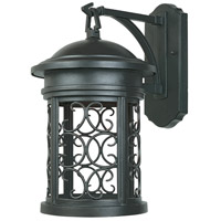 Designers Fountain Ellington 1 Light Outdoor Wall Lantern (Dark Sky) in Oil Rubbed Bronze 31121-ORB