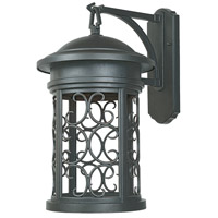 Designers Fountain Ellington 1 Light Outdoor Wall Lantern (Dark Sky) in Oil Rubbed Bronze 31131-ORB