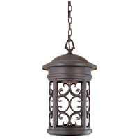 Designers Fountain Ellington 1 Light Outdoor Hanging Lantern (Dark Sky) in Mediterranean Patina 31134-MP