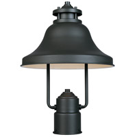 Bayport 1 Light 15 inch Bronze Outdoor Post Lantern