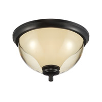 Designers Fountain Stockholm 2 Light Outdoor Flushmount in Oil Rubbed Bronze 31722-ORB