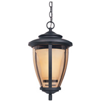 Designers Fountain Stockholm 1 Light Outdoor Hanging Lantern in Oil Rubbed Bronze 31734-ORB