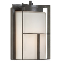 Designers Fountain Braxton 1 Light Outdoor Wall Lantern in Charcoal 31822-CHA