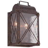 Designers Fountain Colfax 2 Light Outdoor Wall Lantern in Etruscan Bronze 33331-EB