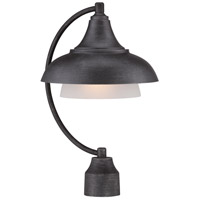 Designers Fountain 33546-WP Palmer 1 Light 18 inch Weathered Pewter Outdoor Post Lantern
