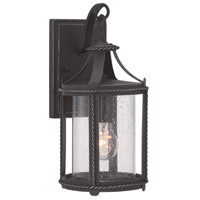 Palencia 1 Light 15 inch Artisan Pardo Wash Outdoor Wall Lantern