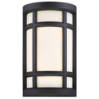Logan Square 2 Light 8 inch Black ADA Wall Sconce Wall Light
