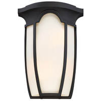 Tudor Row 2 Light 9 inch Black ADA Wall Sconce Wall Light