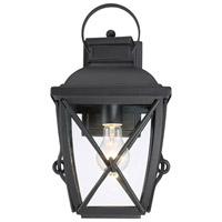 Designers Fountain 34831-BK Belmont 1 Light 15 inch Black Outdoor Wall Lantern