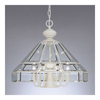 Designers Fountain Heritage 5 + 1 Light Pendant in White 3639DL-WH