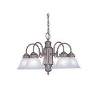Designers Fountain Bistro 5 Light Chandelier in Pewter 4208-AL-PW photo thumbnail