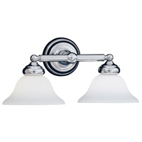 Designers Fountain Opal Essence 2 Light Bath Vanity in Chrome 4967-CH