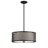 Designers Fountain Continental 3 Light Pendant in Artisan 6201-ART