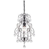 Designers Fountain Flora 1 Light Mini Chandelier in Oil Rubbed Bronze 6204-ORB