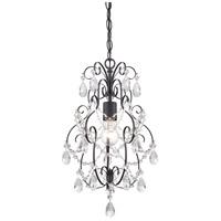 Designers Fountain 6204-ORB Flora 1 Light 14 inch Oil Rubbed Bronze Mini Chandelier Ceiling Light