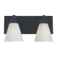 Designers Fountain Hudson 2 Light Bath Bar in Oil Rubbed Bronze 6492-ORB