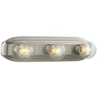 Designers Fountain Value 3 Light Bath Bar in Brushed Nickel 6613-BN