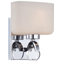 Designers Fountain 6621-CH Venetian 1 Light 7 inch Chrome Wall Sconce Wall Light thumb