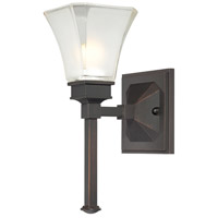 Canterbury 1 Light 6 inch Biscayne Bronze Wall Sconce Wall Light