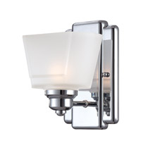 Metropolis 1 Light 6 inch Chrome Wall Sconce Wall Light