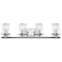 Designers Fountain 6694-CH Essence 4 Light 32 inch Chrome Bath Bar Wall Light