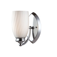 Designers Fountain Belize 1 Light Wall Sconce in Chrome 6701-CH