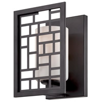 Designers Fountain Trellis 1 Light Wall Sconce in Oil Rubbed Bronze 6721-ORB