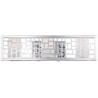 Designers Fountain Trellis 3 Light Bath Bar in Chrome 6723-CH