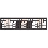 Designers Fountain Trellis 3 Light Bath Bar in Oil Rubbed Bronze 6723-ORB