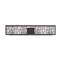 Designers Fountain Trellis 4 Light Bath Bar in Oil Rubbed Bronze 6724-ORB