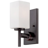Designers Fountain Dakota 1 Light Wall Sconce in Biscayne Bronze 6731-BBR