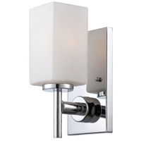 Designers Fountain Dakota 1 Light Wall Sconce in Chrome 6731-CH