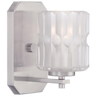 Designers Fountain 67601-SP Valeta 1 Light 5 inch Satin Platinum Wall Sconce Wall Light thumb
