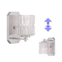 Designers Fountain 67601-SP Valeta 1 Light 5 inch Satin Platinum Wall Sconce Wall Light 67601-SP_ALT.jpg thumb