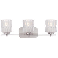 Designers Fountain 67603-SP Valeta 3 Light 23 inch Satin Platinum Bath Bar Wall Light 67603-SP.jpg thumb
