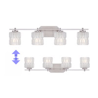 Designers Fountain 67604-SP Valeta 4 Light 32 inch Satin Platinum Bath Bar Wall Light 67604-SP_ALT.jpg thumb