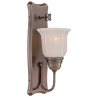 Designers Fountain 68001-OSB Astor 1 Light 5 inch Old Satin Brass Wall Sconce Wall Light
