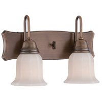 Designers Fountain 68002-OSB Astor 2 Light 15 inch Old Satin Brass Wall Sconce Wall Light