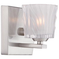 Volare 1 Light 6 inch Satin Platinum ADA Wall Sconce Wall Light