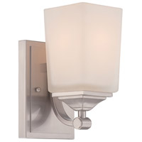 Corbin 1 Light 5 inch Satin Platinum Wall Sconce Wall Light