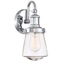 Designers Fountain 69501-CH Taylor 1 Light 5 inch Chrome Wall Sconce Wall Light