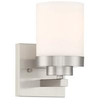 Designers Fountain 69601-SP Kaden 1 Light 5 inch Satin Platinum Wall Sconce Wall Light