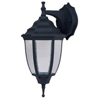 Lexington LED 14 inch Black Outdoor Wall Lantern