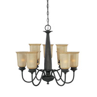 Designers Fountain Arlington 9 Light Chandelier in Oil Rubbed Bronze 80789-ORB