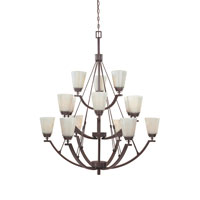 Designers Fountain Harlow 15 Light Chandelier in Tuscana 816815-TU photo thumbnail