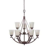 Designers Fountain Harlow 9 Light Chandelier in Tuscana 81689-TU